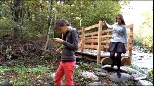 La Forêt par Tamara et Fanny (48s)