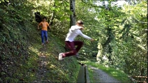 Forest Jump (44s)